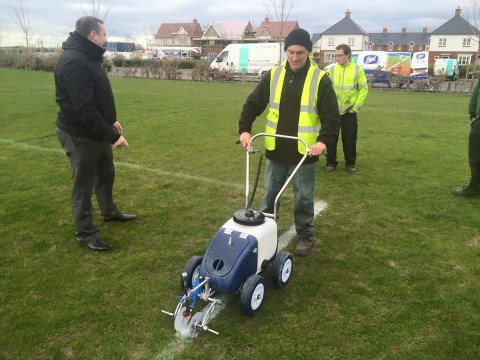 Pitch Marking Training