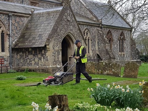 Cemetery Grass Cutting