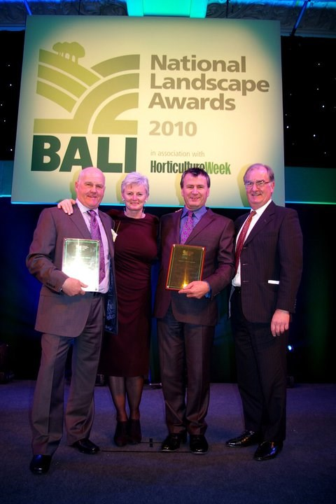 Bawden Managed Landscapes Wins BALI Award