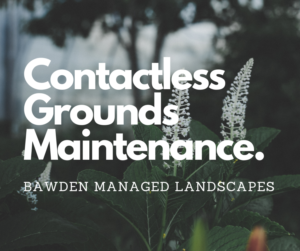 Contactless Grounds Maintenance - COVID-19 Response